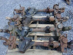 Dana 30 84-96 Jeep Cherokee empty front axle housing Disconnect XJ comanche