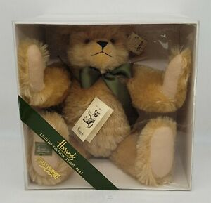 ThriftCHI ~ Harrods Merrythought Limited Edition 1910 Mohair Teddy Bear 78/500