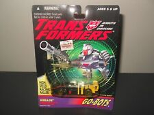 transformers g2 origina vintage go bots mirage sealed Mosc sealed on card