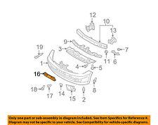 NISSAN OEM 07-12 Versa-License Plate Bracket Mount Holder 96210EM30B