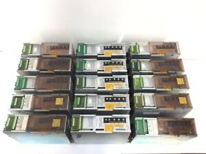 15er Set div Indramat AC Servo Controller ua mit 6x TDM 1.2-050-300-W1-000