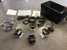 Nikon R1C1 wireless Speedlight flash Kit set EXTRA FLASH +CASE 3x SB-R200 SU-800