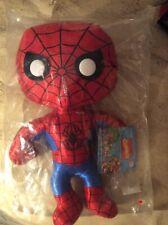 "Plushies Funky Spider-Man Marvel Hero 8"" NIP"