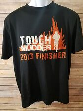 Under Armour Mens Tough Mudder 2014 Finisher Black S/S Shirt Size Large   J
