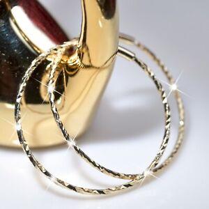 18k yellow gold 925 sterling silver earrings simple hoop kids SMALL hoops 22mm