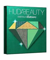 NEW Huda Beauty Emerald Obsessions Eyeshadow Palette Precious Stones Collection