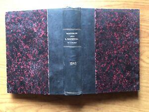 ANTICO LIBRO BOLLETTINO AMMINISTRATIVO R. PREFETTURA  DI TORINO ANNO 1940