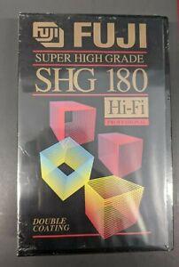 NEW & SEALED FUJI SHG 180 HIFI VHS Tape
