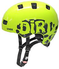 UVEX Kid 3 Kinder Fahrradhelm Radhelm neon gelb Bike Scooter Inliner Skate Helm