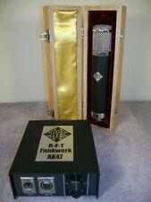Telefunken R-F-T AK47 Tube Condenser Studio Microphone w/Rycote suspension kit