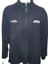 World Of Outlaws Dirt Car Racing XL 1/4 Zip Polyester Fleece-like Pullover