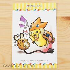 Pokemon Center Mega Tokyo Mega Charizard Y Pikachu Postcard #3 Not sold in store