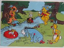 Puzzle in legno Winnie The Pooh Dimensioni cm30x21,5x0,8 Ih-Oh Tigro Tappo