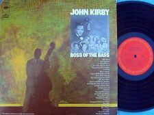 John Kirby ORIG US 2LP Boss of the bass NM '75 MONO Jazz Swing Columbia CG33557