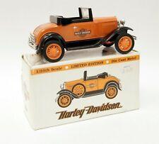HARLEY-DAVIDSON Ltd Ed 1:25 Scale 1929 Model A Roadster Diecast Coin Bank C1821