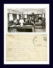 MICHIGAN EAST TAWAS CCC CAMP LIBRARY POSTED CIRCA 1938 TO PHIL McCARL, BANCROFT