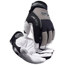 Caiman®  2915 LARGE White Goat Skin Leather Insulated HEATRAC® III  Work Gloves
