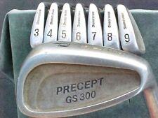 Bridgestone Precept GS 300 Golf Clubs set Stainless irons 3-PW w Graphite Shafts