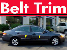 Honda ACCORD 4 DR CHROME SIDE BELT TRIM DOOR MOLDING 98-02/2003-2007 2008-2012