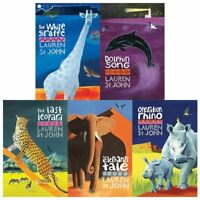 White Giraffe Series collection Lauren St John 5 Books Set Children's Pack NEW