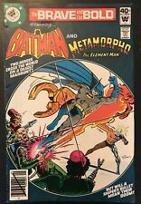 Brave and the Bold #154 HTF Whitman Variant!! Metamorpho Appearance  (FN/VF)
