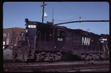 35mm slide N&W/NW Norfolk and Western Railway EMD GP18 929 Chicago IL USA1984ori