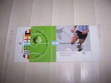 Argentinien Argentina 2002 MNH 2715 + 2716 Football soccer Fußball Paar