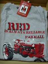 """INTERNATIONAL HARVESTER """"RED IS ALWAYS RELIABLE"""""""" T-SHIRT, NEW"""