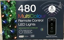 480 Multi Colour remote control LED lights with 8 function controller