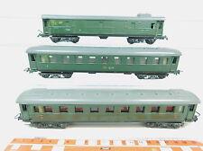 AZ371-1# 3 x Piko H0/DC Vagones etc. DR: 18350/Bln + 000213/Pw 4ü; VEB/RDA