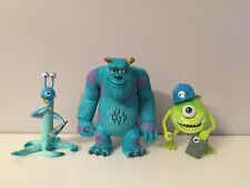 Disney Pixar Monsters Inc. Sulley, Mike And Charlie Figures