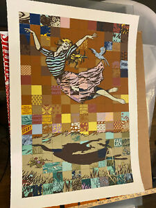 Falling For Faile Poster - 2017 - FAILE ART PRINT - Limited to 500