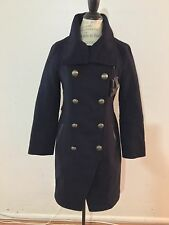 NWT Women's MACKAGE Bandleader Coat, Medium, Navy