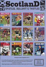 SCOTLAND EPISTLES FOOTBALL MAGAZINE #4 - TARTAN ARMY FANZINE / MAGAZINE