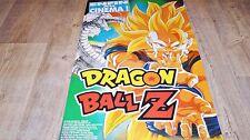 DRAGON BALL Z   !  affiche manga , japon bd dessin