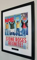 The Stone Roses-Framed Original NME-Certificate Ian Brown Oasis Fools Gold