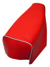 Motorcycle seat cover - Honda XL125S & XL185S in red