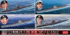 Hasegawa 30040 - 1/700 German Submarine u-Boat Type Viic / Ixc Aces Part 2