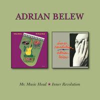 Adrian Belew - Mr Music Head / Inner Revolution [New CD] UK - Import