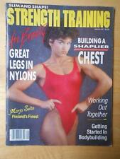 STRENGTH TRAINING FOR BEAUTY #5 female muscle magazine/MARJO SELIN 9-84