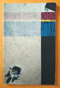 Libro Book Arte Giovani Artisti Italiani NOTIZIE DI PITTURA Ferrara Bologna 1992
