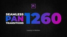 Adobe Premiere Pro Seamless Pan Transitions 1260+ Digital Download