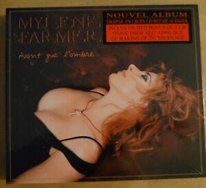 Mylene Farmer Avant que l'ombre Double CD/DVD Edition limitée