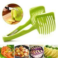 Küche Obst Tomaten Clip Holder Gemüse Zitrone Cutt Kartoffel Zwiebel J7W5