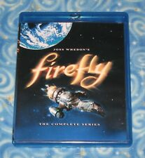 Firefly The Complete Series Blu ray 3 Disc Collector Set 2008 Excellent