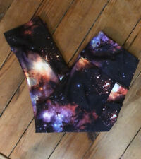 AVIA size Medium Capri Legging Constellation Galaxy Leggings Stars Solar System