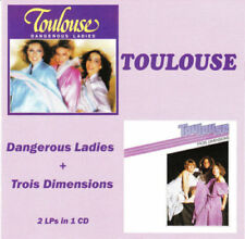 Toulouse ‎– Dangerous Ladies + Trois Dimensions RARE CD!