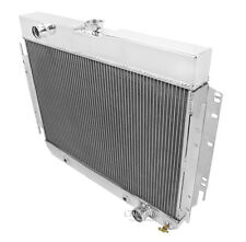 A/C Duty, 1963 1964 1965 1966 1967 1968 Chevy Impala DR 4 Row Radiator