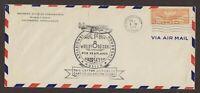 Ct: Bridgeport 1934 8/1 Sergievsky, Musick, Lindbergh Airmail Flight Cover