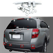Chrome Exterior Rear Tail Gate Molding Trim Cover for 06-10 Holden Captiva